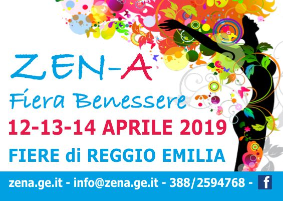 ZEN-A Fiera Benessere 2019 Reggio Emilia - Banner 565x400px