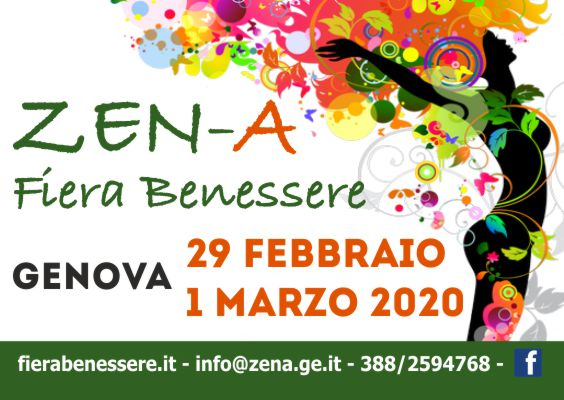 ZEN-A Fiera Benessere Genova 2020 Banner 565x400px