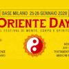ORIENTE DAY · Milano – MI · 25-26 gennaio 2020