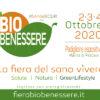BIO BENESSERE · Marina di Pescara – PE · 2-4 ottobre 2020