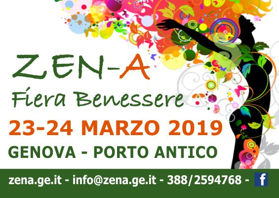 ZEN-A Fiera Benessere 2019 Genova - Banner 565x400px