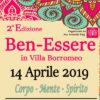 BEN-ESSERE · Villa Borromeo – Cassano d'Adda · 14 aprile 2019