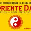 ORIENTE DAY · Parco Tittoni · Desio – MB · 3-4 luglio 2021
